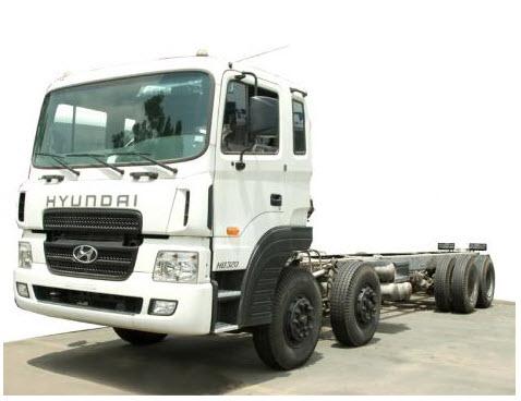 Hyundai HD 320 4 chân...
