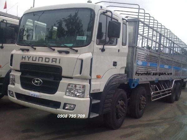 Ô tô tải Hyundai HD 320 (380ps) (17,650 tấn) thùng...