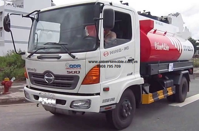 Xe bồn chở xăng dầu 12 khối Hino 9 tấn