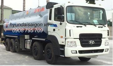 Xe bồn hyundai chở xăng dầu 24000 lít