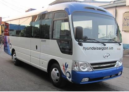 Xe Hyundai County 29 chổ thân dài Limousine