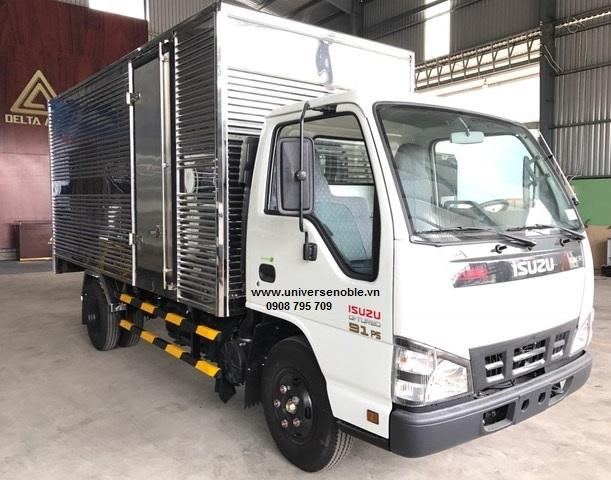 Xe tải 2.2 tấn Isuzu thùng kín