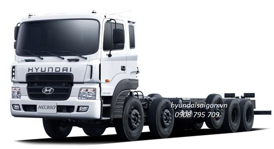 Xe tải 5 chân Hyundai HD 360 nhập khẩu nguyên...