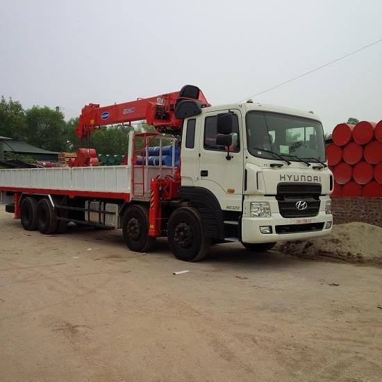 Xe tải cẩu 10 tấn Kanglim KS2605 Hyundai HD320